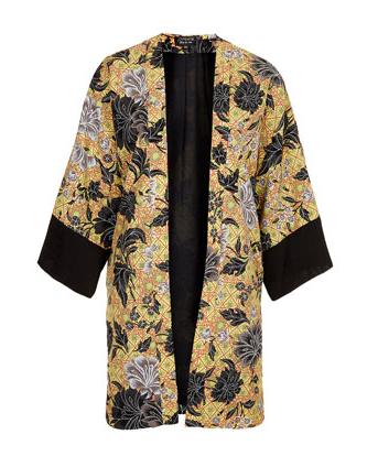 topshop Dotti floral kimono