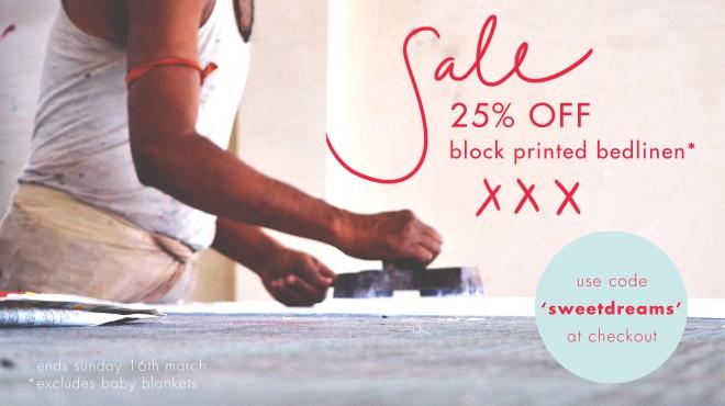 Block Print Sale 1