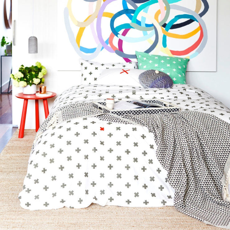 Sage and Clare Block Printed Bedlinen